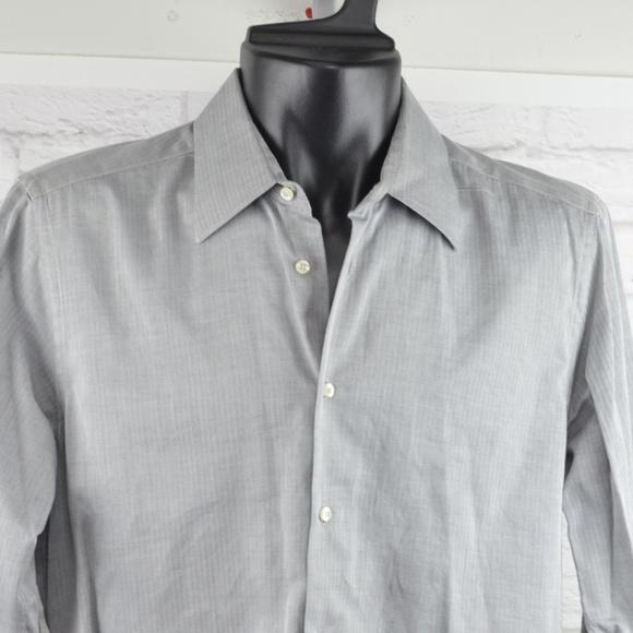 d087ecd046d8 Valentino - Grey dress shirt. M_5c6bfb6dd6dc52fb2411fa41